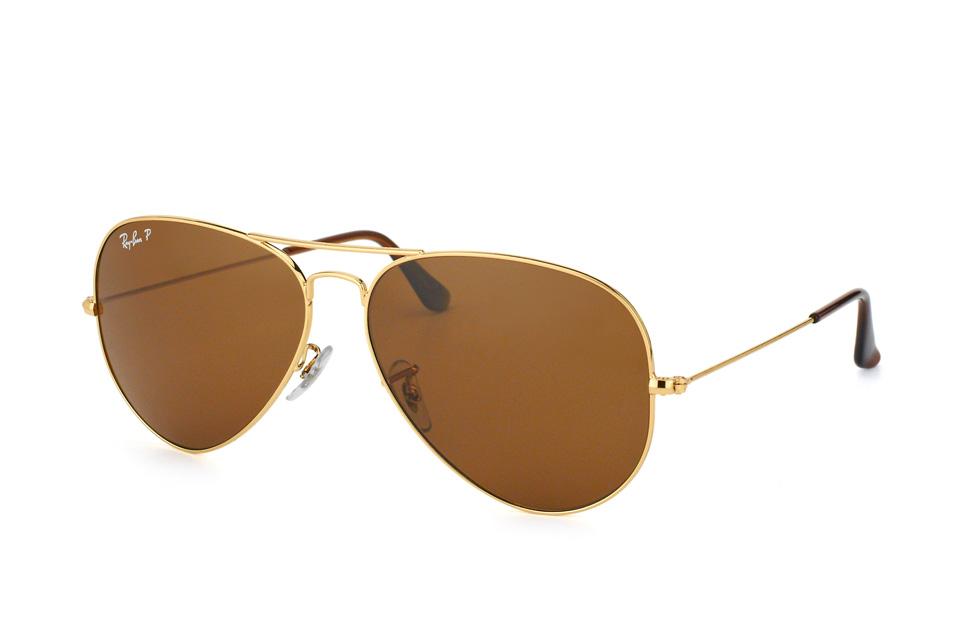 ray-ban -  Aviator RB 3025 001/57 large, Aviator Sonnenbrille, Herren