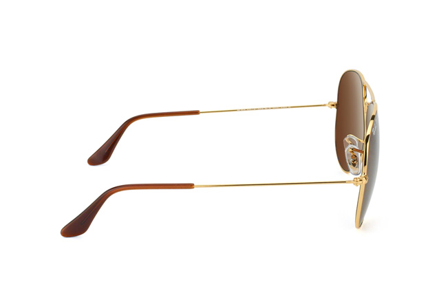 Ray-Ban Aviator RB 3025 001/57 large vista en perspectiva
