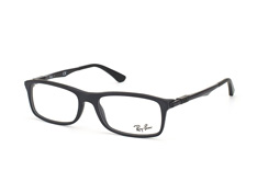 ray-ban-rx-7017-5196-rectangle-brillen-schwarz