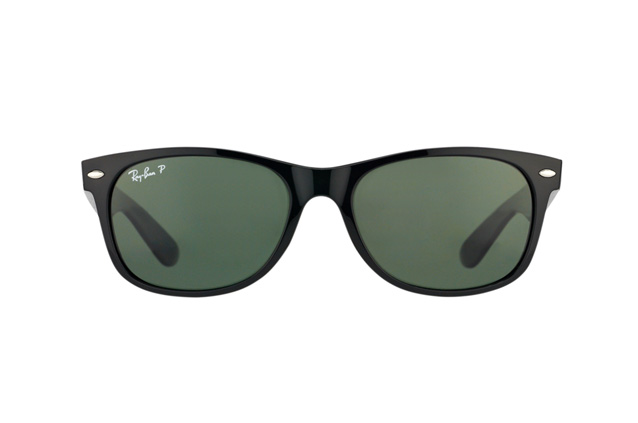Ray-Ban New Wayfarer polarized RB 2132 901/58 large Perspektivenansicht