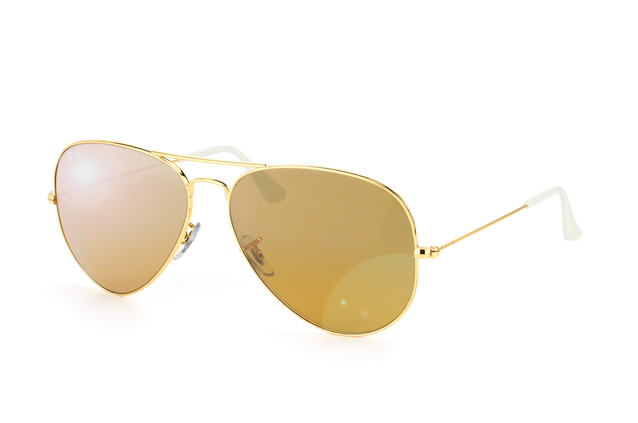 Ray-Ban Aviator RB 3025 001/3K large vue en perpective
