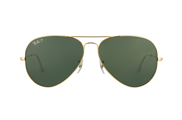 Ray-Ban Aviator RB 3025 001/58 large polarized Perspektivenansicht