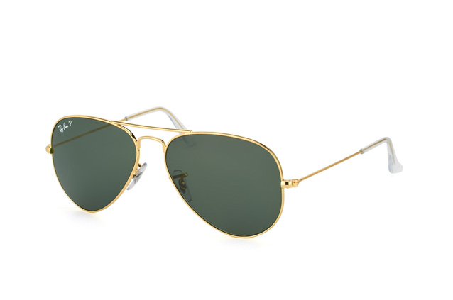ray ban aviator small grün