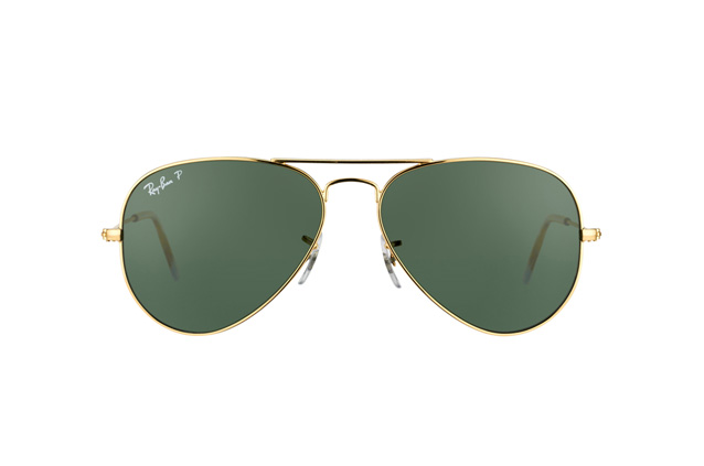 Ray-Ban Aviator RB 3025 001/58 small polarized Perspektivenansicht