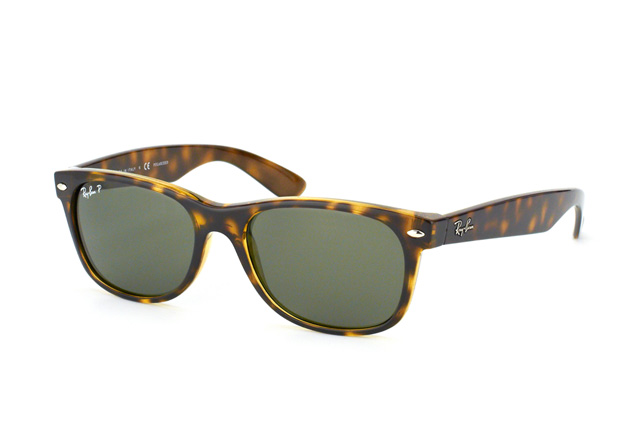 Ray-Ban New Wayfarer RB 2132 902/58 l vista en perspectiva