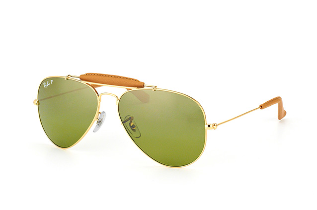 Ray-Ban Aviator Craft RB 3422Q 001/M9 perspective view