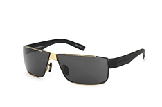Porsche Design P 8509 B, Rectangle Sonnenbrillen, Goldfarben