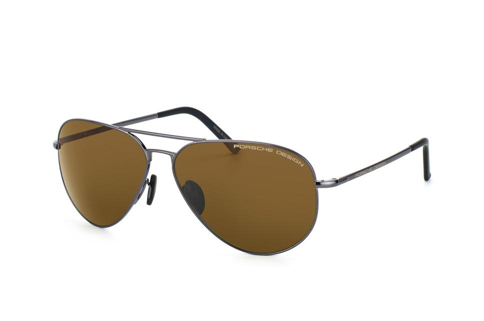 PORSCHE Design Porsche Design Herren Sonnenbrille » P8629«, goldfarben, B - gold/grün