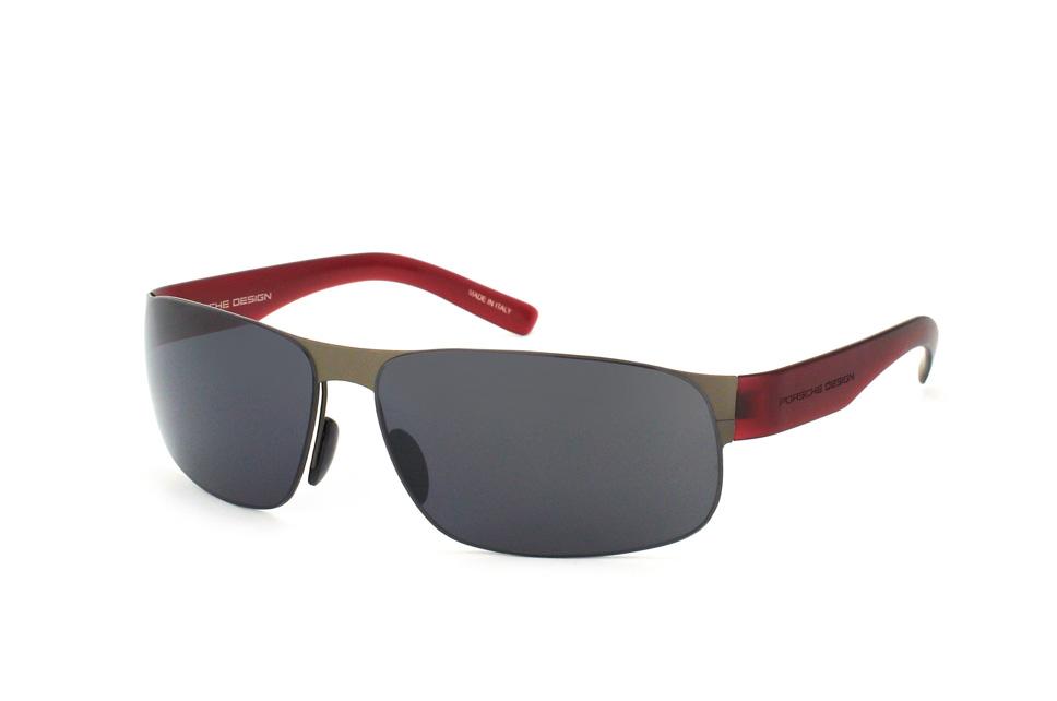 PORSCHE Design Porsche Design Herren Sonnenbrille » P8615«, grau, D - grau/grün
