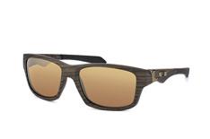 Oakley Jupiter Squared OO 9135 07, Sporty Sonnenbrillen, Braun