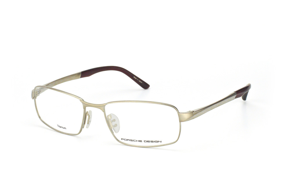 P 8212 B, Rectangle Brillen, Hellgrau