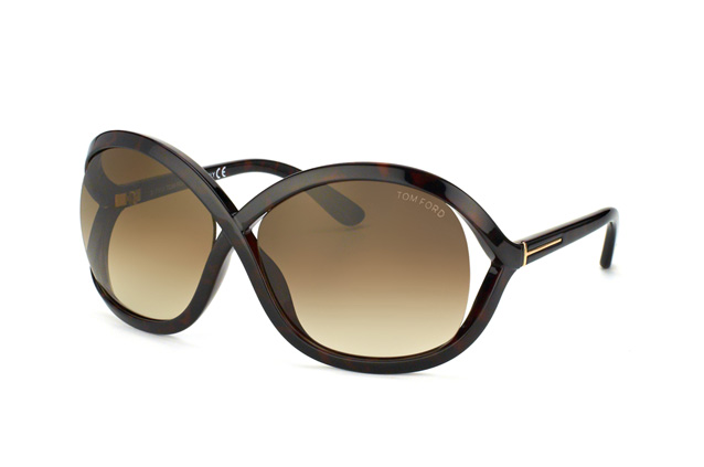 Tom Ford Sandra FT 0297 / S 52F vue en perpective