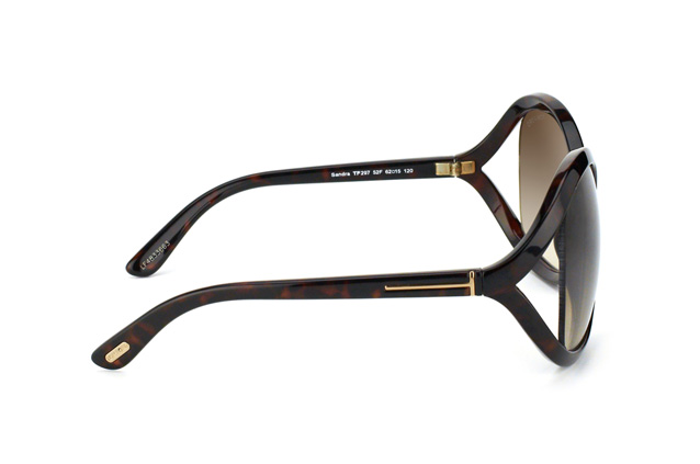 Tom Ford Sandra FT 0297 / S 52F perspective view