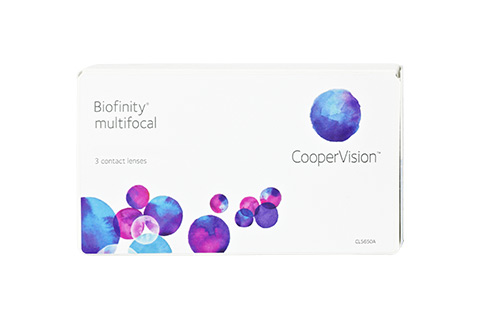 Biofinity Biofinity Multifocal 3 lenses per box front view
