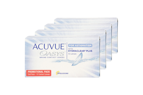 Image of Acuvue ACUVUE Oasys for Asti. (12 lenses per box) 5.75