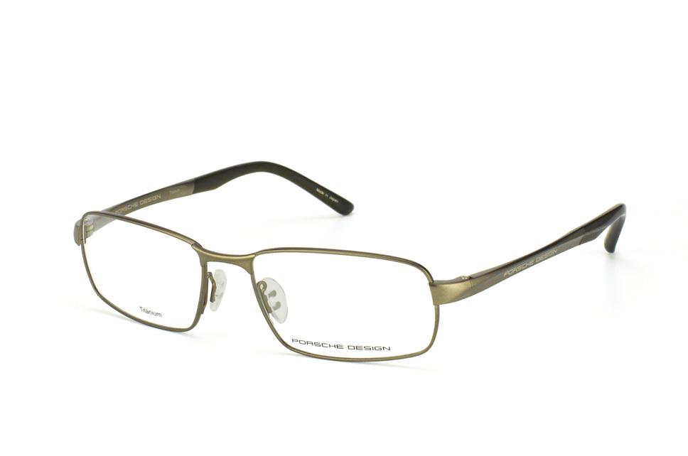 P 8212 D, Rectangle Brillen, Dunkelgrau