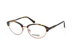 Loveyewear Trend LD 2013 002, Round Brillen, Braun