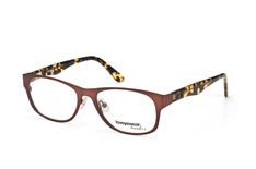 Loveyewear Trend LD 2014 002, Square Brillen, Braun