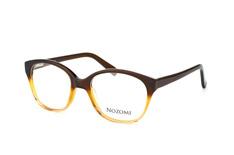 Nozomi NZ 1005 022, Round Brillen, Braun