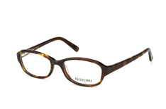 Nozomi NZ 1009 002, Rectangle Brillen, Braun
