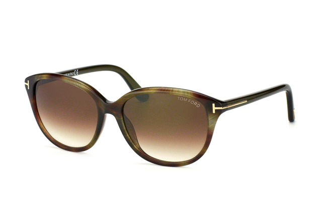 Tom Ford Karmen FT 0329/S 01B Größe 57 puFG84ARbA