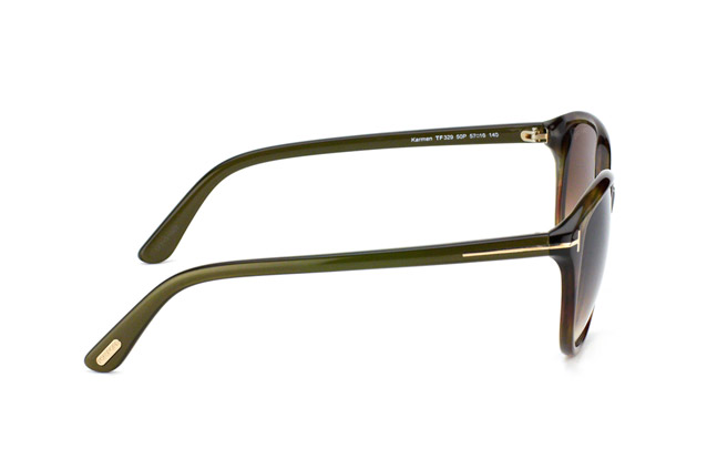 Tom Ford Karmen FT 0329 / S 50P perspective view