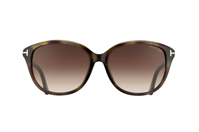 Tom Ford Karmen FT 0329 / S 50P vue en perpective
