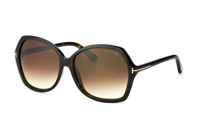 Tom Ford Carola FT 0328 / S 52F vista en perspectiva
