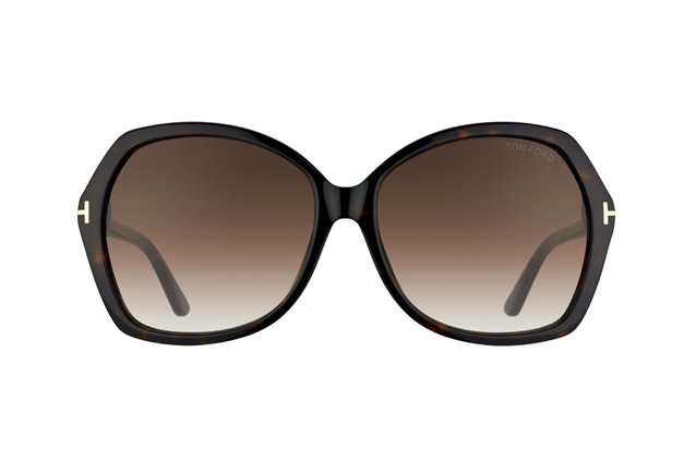 Tom Ford Carola FT 0328 / S 52F vue en perpective