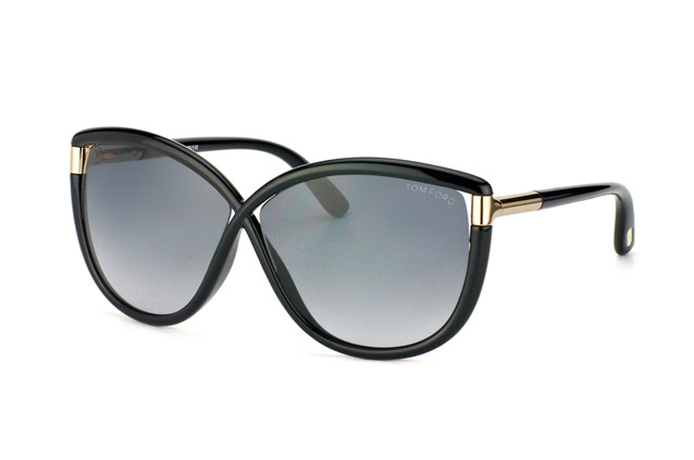 Tom Ford Abbey FT 0327 / S 01B vue en perpective