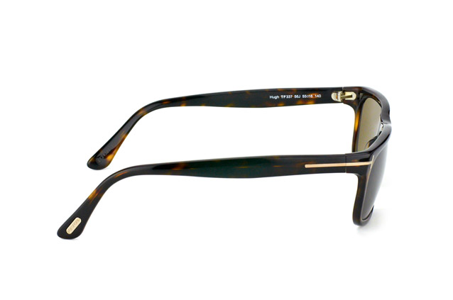 Tom Ford Hugh FT 0337 / S 56J vista en perspectiva