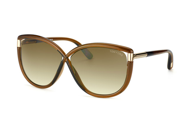 Tom Ford Abbey FT 0327 / S 48F vista en perspectiva