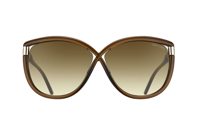 Tom Ford Abbey FT 0327 / S 48F vue en perpective