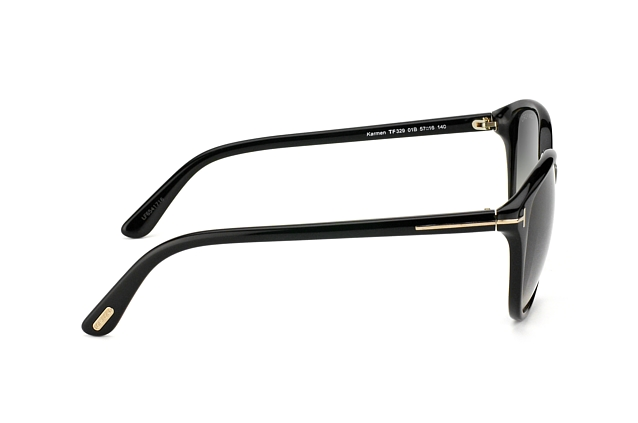 Tom Ford Karmen FT 0329 / S 01B vista en perspectiva