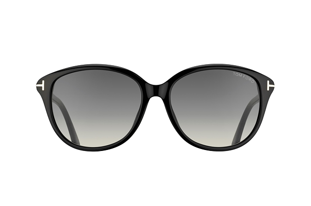 Tom Ford Karmen FT 0329 / S 01B vue en perpective