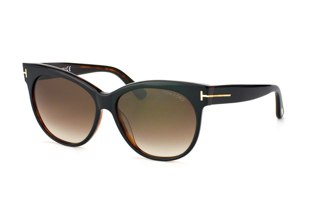 Tom Ford Saskia FT 0330 / S 03B vue en perpective