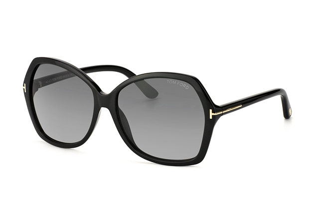 Tom Ford Carola FT 0328 / S 01B vue en perpective