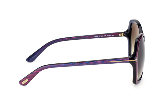 Tom Ford Carola FT 0328 / S 83F vista en perspectiva