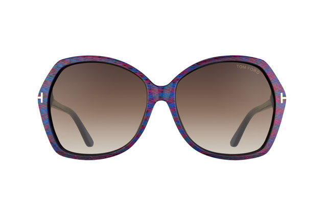 Tom Ford Carola FT 0328 / S 83F vue en perpective