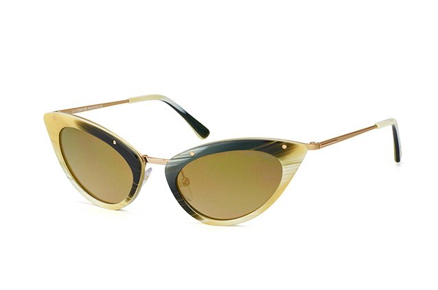 Tom Ford Grace FT 0349 / S 64J vista en perspectiva