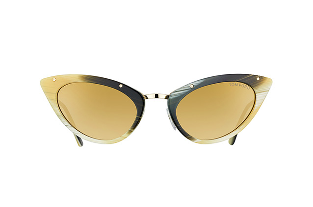 Tom Ford Grace FT 0349 / S 64J vue en perpective