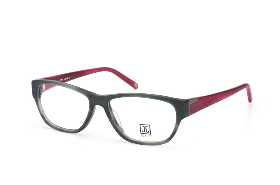 Jette 7318 c 2, Oval Brillen, Rot
