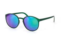 Le Specs Swizzle LSP 1302161, Round Sonnenbrillen, Gruen