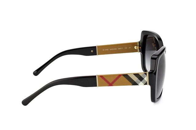 Burberry BE 4160 3433/8G vista en perspectiva