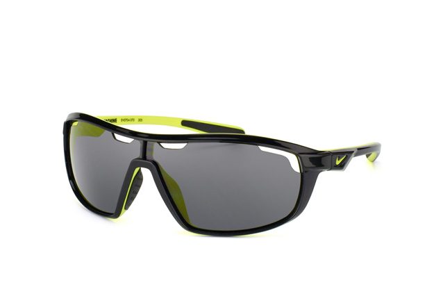 Nike Herren Sonnenbrille Vision Road Machine black/voltage MofPq1JrUe