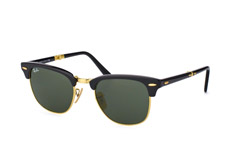 Ray-Ban Clubmaster Folding RB 2176 901 klein