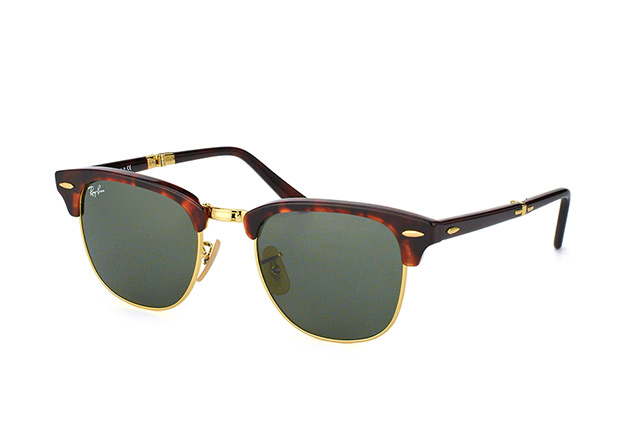 Ray-Ban Clubmaster Folding RB 2176 990 vista en perspectiva