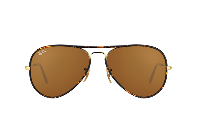 Ray-Ban Aviator Full Colour RB 3025 JM 001 perspective view