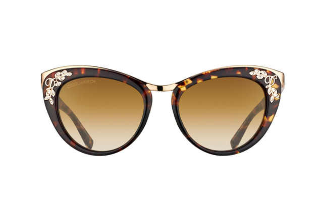 Dsquared2 DQ 0096/S 52F Perspektivenansicht