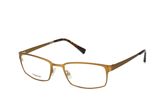 Mister Spex Collection Chrispin Titanium 3006 BWN Perspektivenansicht